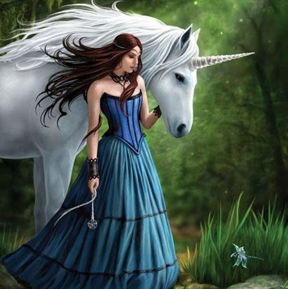 Have Fun! Images A Girl With Unicorn Wallpaper And Background