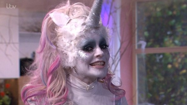 Holly Willoughby Reveals 'zombie Unicorn' Halloween Costume