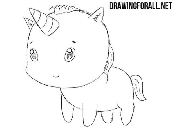 How To Draw A Chibi Unicorn