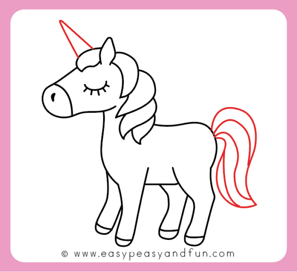 How To Draw An Unicorn