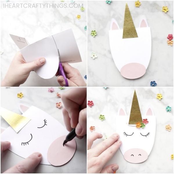 How To Make A Simple Diy Unicorn Card