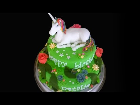 How To Make A Unicorn Birthday Cake