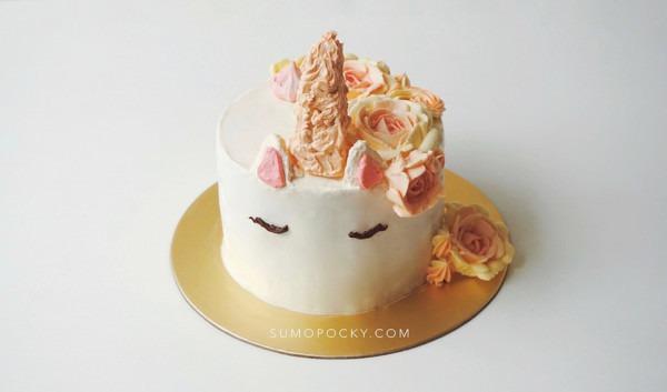 How To Make Unicorn Cake Without Fondant