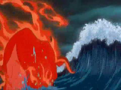 The Burning Red Bull