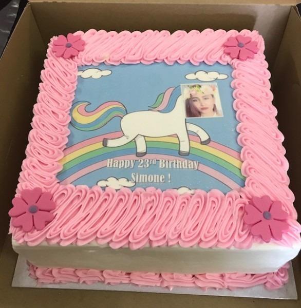 Ice Cream Cake Unicorn & Photo – Cake And Bake