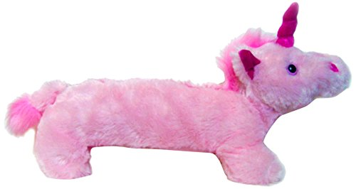 Inkology Plush Unicorn Pencil Pouch, Pink Magent