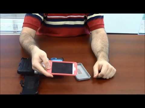 Iphone Se Ub Pro Holster Case Installation Video