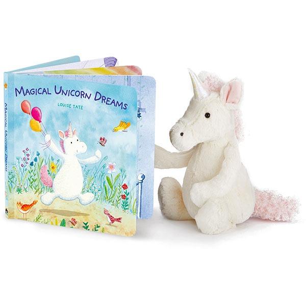 Jellycat Books Magical Unicorn Dreams Board Book