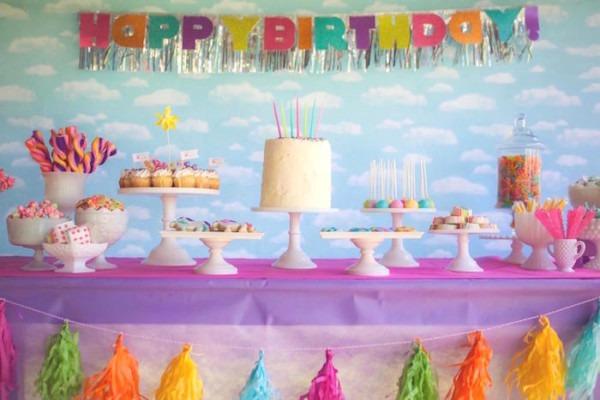 Kara's Party Ideas Rainbow Unicorn Themed Birthday Party