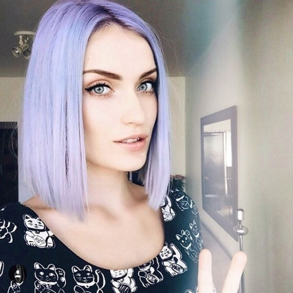 Kirstenmclennan Used  Unicornhair Colors In Moonchild And Cloud To
