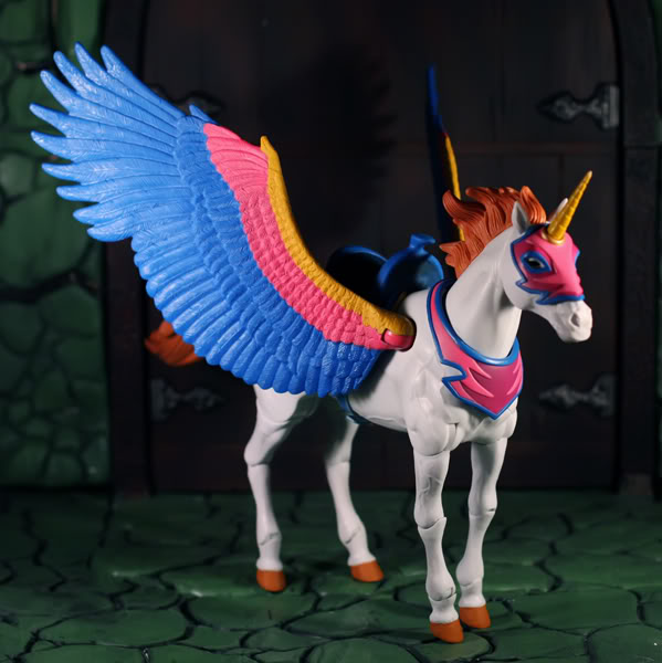 Masters Of The Universe Classics  Swiftwind Beautiful Horse Spirit