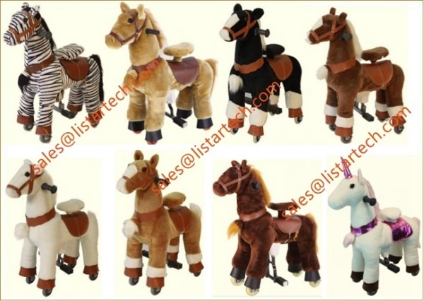 Mechanical Pony Horses Is The New Rental Products For Party