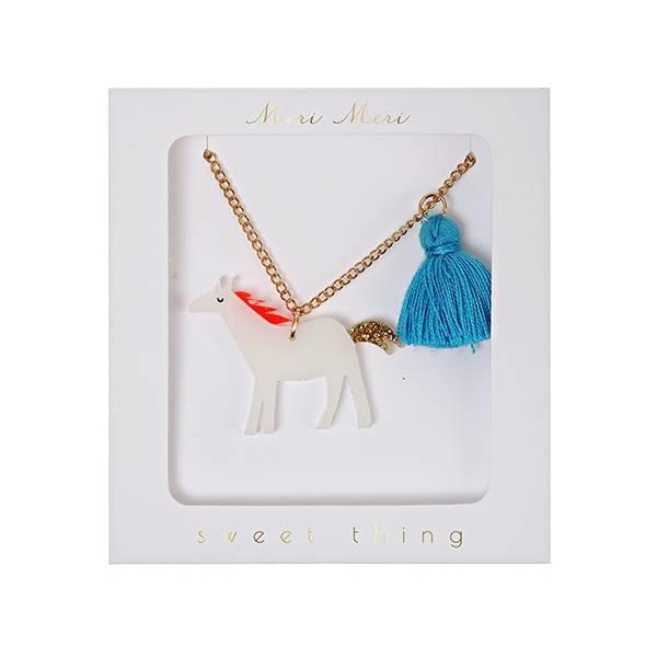 Meri Meri Horse Necklace