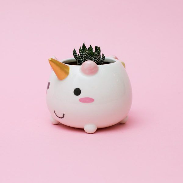 Most Wanted  Smoko Elodie Unicorn Planter