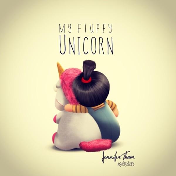 My Fluffy Unicorn – Jen Doodle & Twaddle