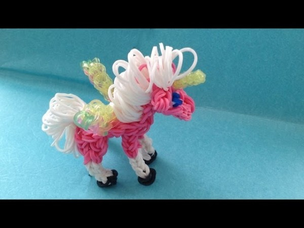 How To Make A Rainbow Loom Unicorn