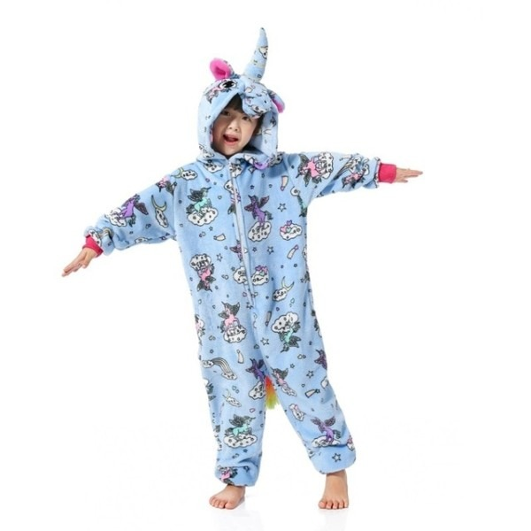 New Animal Blue Fly Pegasus Unicorn Pyjamas Cartoon Cosplay