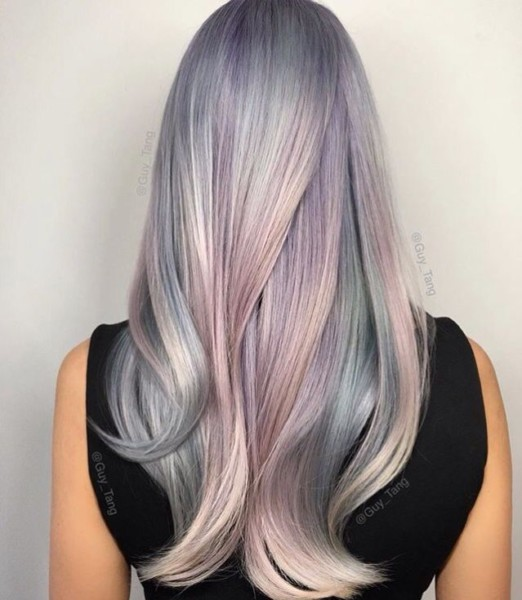 Opal Hair Color  Mother Of Pearl  Guy Tang