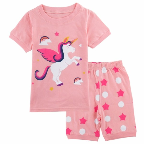 Pajamas For Girls Unicorn Sleepwear Child Unicornio Mermaid