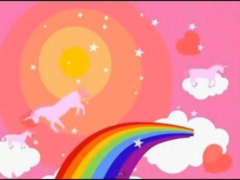 Pink Fluffy Unicorns Dancing On Rainbows [10 Hours]