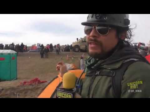 Police & Military Attack Oceti Sakowin Treaty Camp Unicorn Riot
