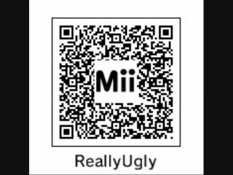 Qr Codes  Really Ugly Mii