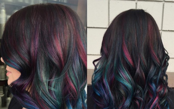 Rainbow Hair Trend That Finally Works For Brunettes