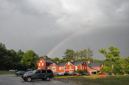 Rainbow Over The Unicorn Theatre