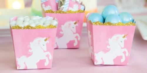 Unicorn Themed Baby Shower