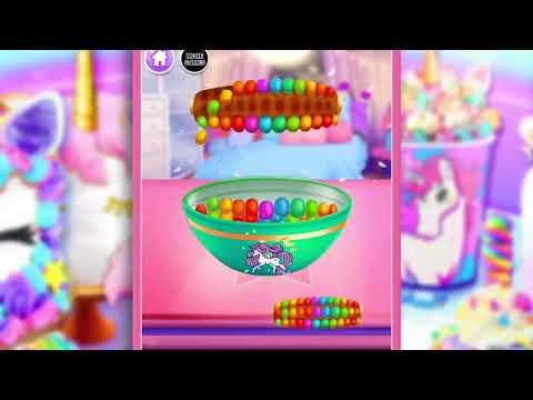 Rainbow Unicorn Foods & Desserts  Cooking Games
