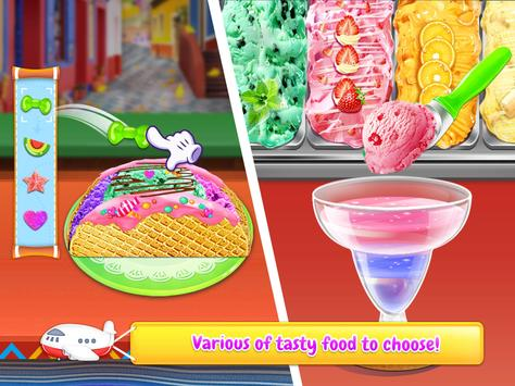 Rainbow Unicorn Ice Cream Food Maker Cooking Games For Android