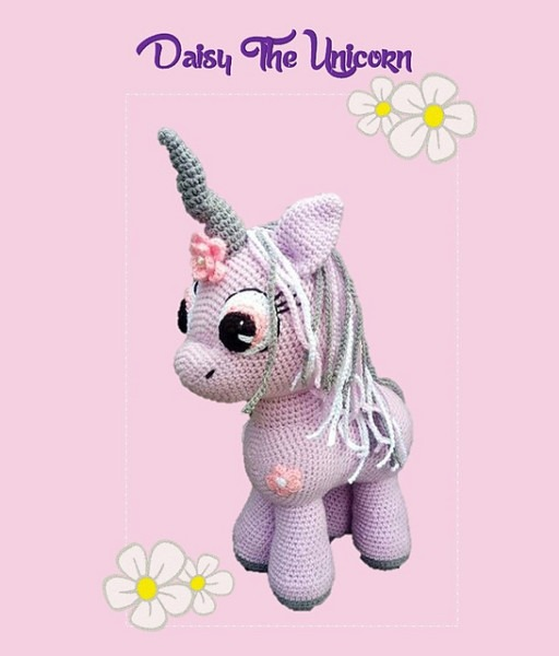 Ravelry  Daisy The Unicorn Pattern By Ami By D