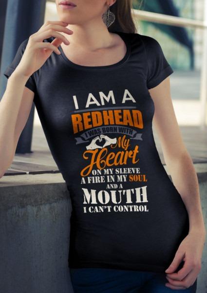 Redhead Majestic Unicorn White Mug