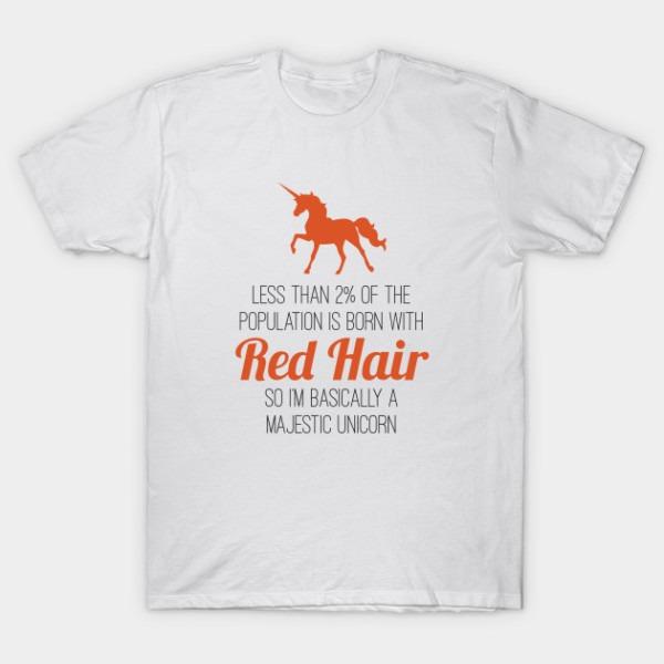 Redheads Are Basically Majestic Unicorns