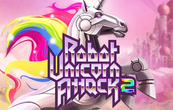 Robot Unicorn Attack 2 Mobile Game App
