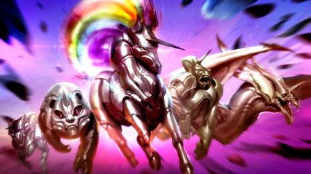 Robot Unicorn Attack Evolution Game