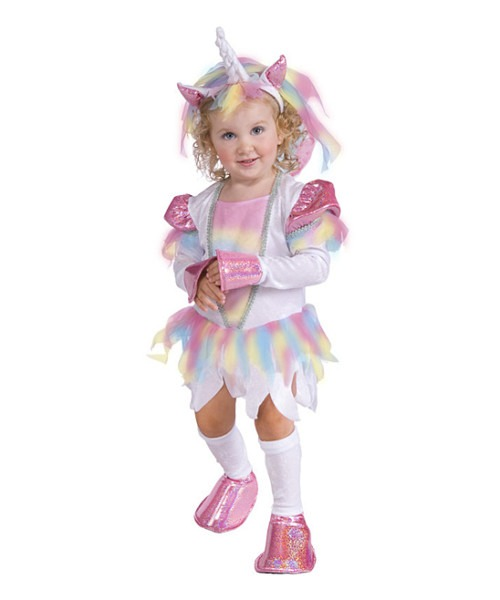 Rubies White & Pink Unicorn Dress