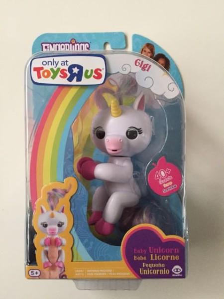 100 Authentic Wowwee Fingerlings Gigi Unicorn Toys R Us