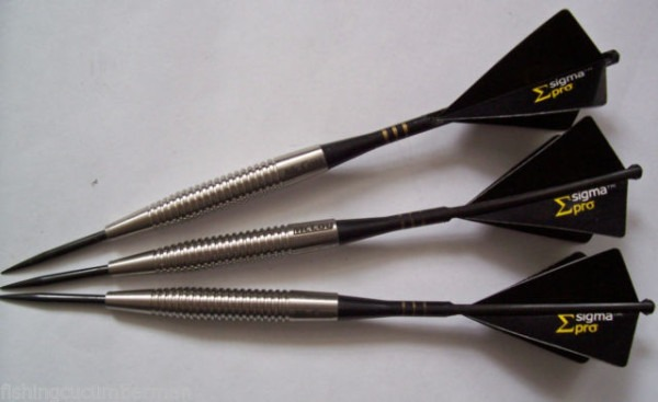 Mccoy Stealth 22g 90 Tungsten Darts Set Unicorn Slikstiks Sigma