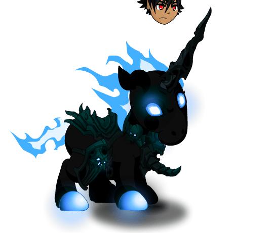 Sapphire Flame Unicorn