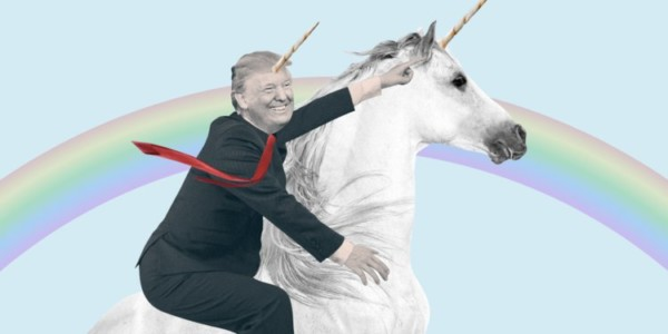 Sean Spicer Says In New Book Trump's A Unicorn Riding Across A