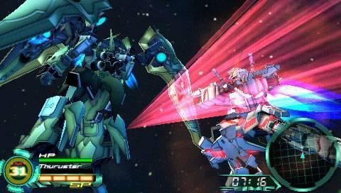 Shinkan Crossing  [psp] Gundam Memories  Memories Of Battle