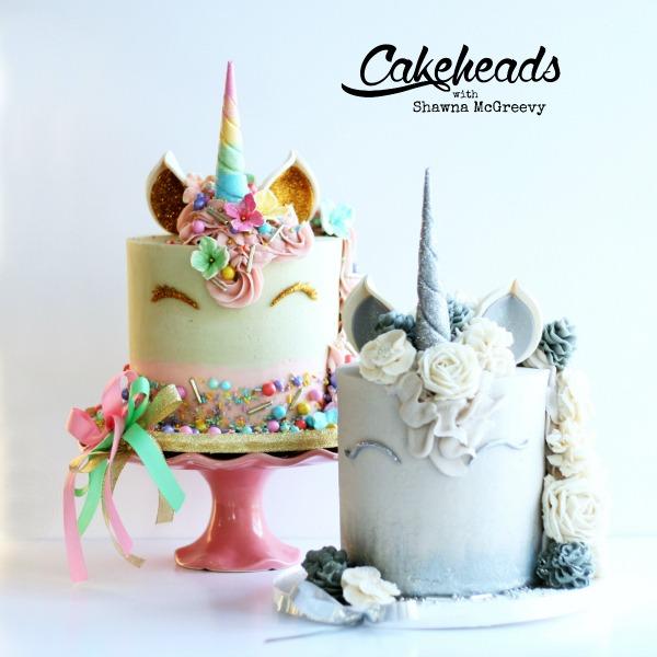 Sparkly, Sprinkly Unicorn Cakes!