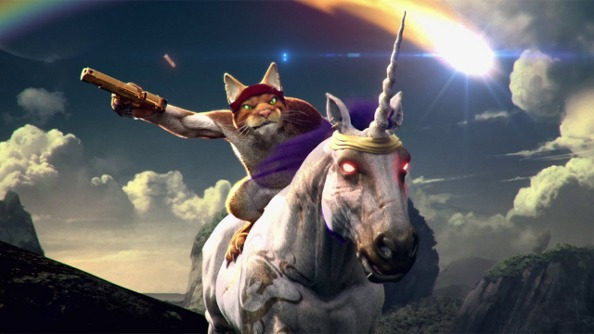 Stick A Cat On A Unicorn In Trials Fusion Awesome Level Max This