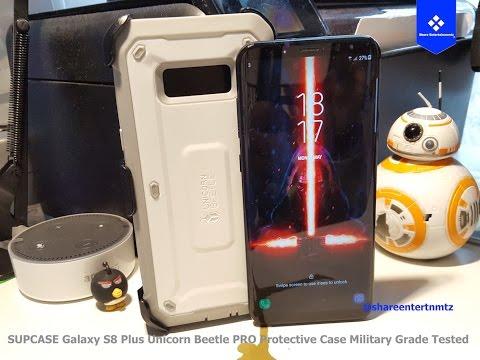 Supcase Galaxy S8 Plus Unicorn Beetle Pro Protective Case Military