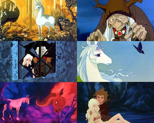 The Last Unicorn Tree Scene