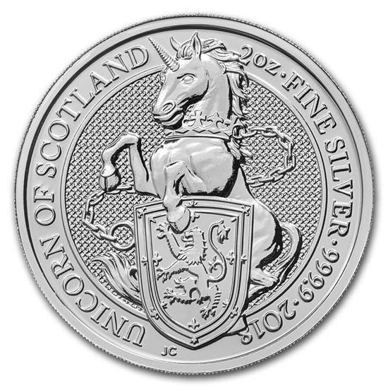 2 Oz Unicorn Of Scotland