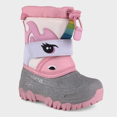 Toddler Girls' Leva Unicorn Winter Boots