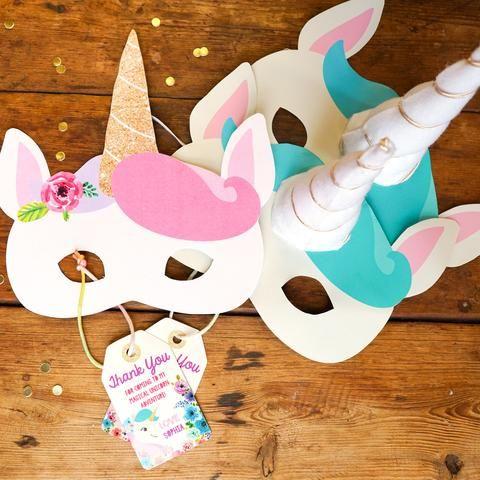 Unicorn Birthday Party Poster