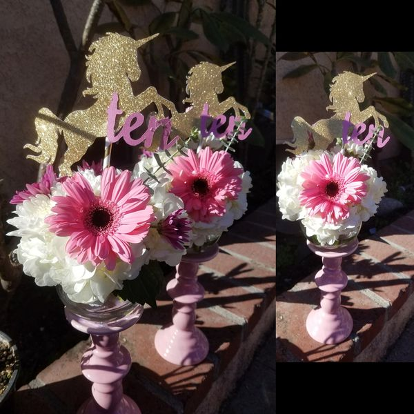 Unicorn Centerpieces & More For Sale In Downey, Ca